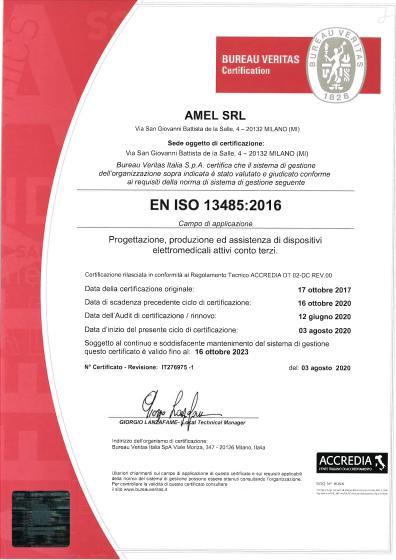 Amel certification